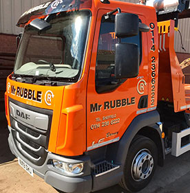 Skip Hire Truck Rotherham