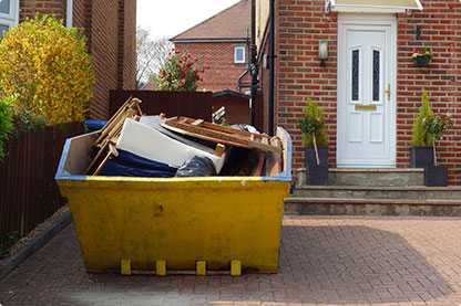 House clearance skip hire