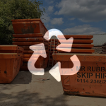 How skip waste is recycled